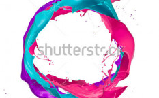 Stock-photo--colored-paints-splashes-circle-isolated-on-white-background-112356059