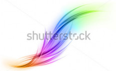 Stock-vector-abstract-shape-in-the-rainbow-colors-106485653