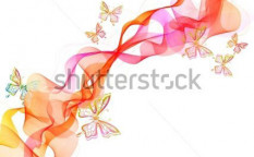 Stock-vector-beautiful-abstract-illustration-with-butterfly-over-white-vector-93488875