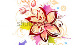 Stock-vector-flower-26715652