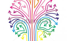 Stock-vector-stylized-tree-with-color-full-arrows-93320668