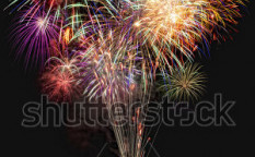 Stock-photo-beautiful-colorful-fireworks-with-night-sky-and-lake-reflections-80720326