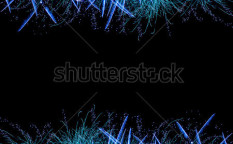 Stock-photo-image-of-blue-firework-border-glowing-festive-frame-abstract-salute-background-christmas-118987771