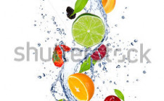 Stock-photo-fresh-fruits-falling-in-water-splash-isolated-on-white-background-109833563