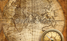 Stock-photo-old-compass-and-rope-on-vintage-map-59106952