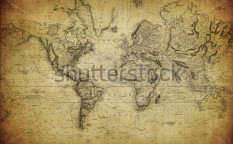 Stock-photo-vintage-map-of-the-world-114234547