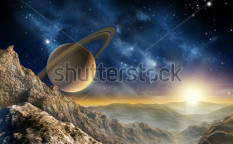 Stock-photo-gorgeous-spacescape-as-seen-from-one-of-saturn-moon-digital-illustration-55568317