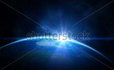 Stock-photo-planet-earth-with-sunrise-in-space-64056481