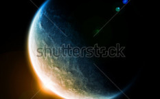 Stock-photo-sunrise-over-the-planet-earth-in-space-85611442