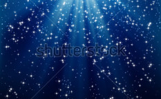 Stock-vector-snow-and-stars-are-falling-on-the-background-of-blue-luminous-rays-66392197