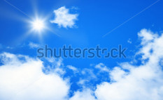 Stock-photo-an-image-of-a-bright-blue-sky-sun-background-117333154