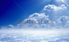 Stock-photo-peaceful-background-blue-sky-bright-sun-heaven-121572919