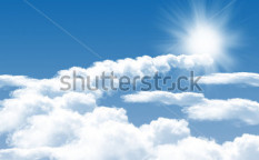 Stock-photo-photo-of-clouds-and-sun-in-the-background-of-a-beautiful-blue-sky-78685753