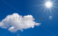 Stock-photo-sunlight-in-a-blue-sky-for-clean-energy-62240704