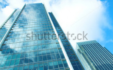 Stock-photo-modern-office-buildings-in-strong-sunlight-9312052