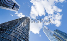 Stock-photo-skyscrapers-skyscrapers-view-with-blue-sky-125372444