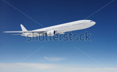 Stock-photo-clear-airpcraft-in-blue-sky-100584622