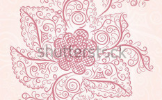 Stock-vector-invitation-vintage-card-with-floral-elements-134492066