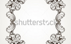 Stock-vector-vector-vintage-border-frame-engraving-with-retro-ornament-pattern-in-antique-baroque-style-121722940