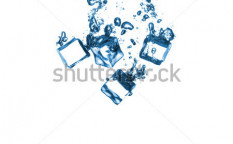 Stock-photo-ice-cubes-in-the-water-isolated-on-white-127716320