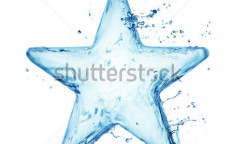 Stock-photo-star-from-water-splash-isolated-on-white-121359715